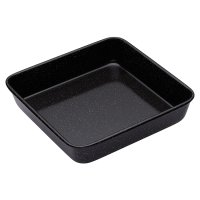 Master Class professional 23cm vitreous enamel square baking tin