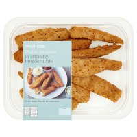 Waitrose plaice goujons in oven crisp breadcrumbs