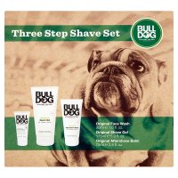 Bull Dog Three Step Shave Set