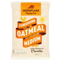 Mornflake medium oatmeal stoneground