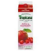 Tropicana apple creations apple & raspberry
