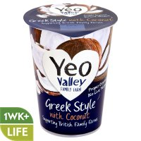 Yeo Valley Greek style yogurt with coconut