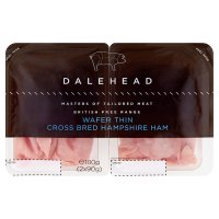 Dalehead British free range wafer thin ham
