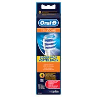 Oral B Trizone Toothbrush Replacement Head 4pk