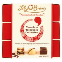 Lily O' Brien's chocolate treasures collection