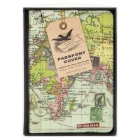Wild & Wolf Atlas Passport Cover