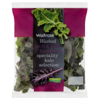 Waitrose Washed specialty kale selection