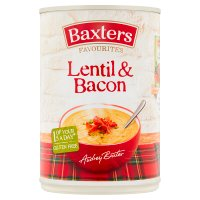 Baxters favourites lentil & bacon soup