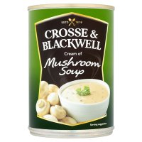 Crosse & Blackwell cream of mushroom soup