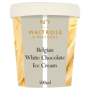 Waitrose Seriously white chocolate ice cream