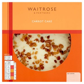 Waitrose Bakery Carrot Cake