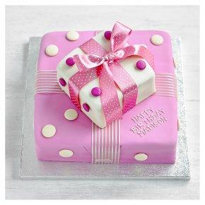 Waitrose Chocolate Cakes Personalised
