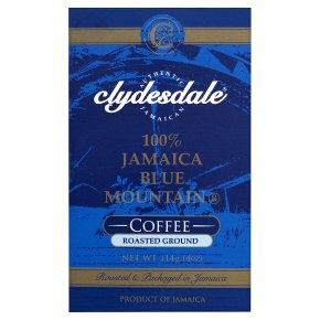 clydesdale jamaica blue mountain roasted ground coffee. Black Bedroom Furniture Sets. Home Design Ideas