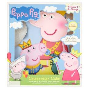 Asda Princess Cake Decorations : Peppa Pig Celebration Cake - Waitrose