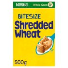 Shredded Wheat Bitesize - 500g Brand Price Match - Checked Tesco.com 29/04/2015