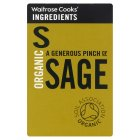 Waitrose Cooks' Ingredients organic sage - 11g