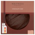 Waitrose Belgian chocolate cake -