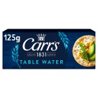 Carr's Table Water biscuits - 125g Brand Price Match - Checked Tesco.com 02/12/2013