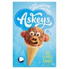 Askey's Ice Cream Cornets - 21s Brand Price Match - Checked Tesco.com 05/03/2014