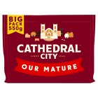 Cathedral City mature Cheddar cheese - 550g