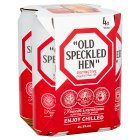 Morland Old Speckled Hen ale in cans