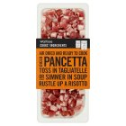 Waitrose Cook's ingredients farm assured Italian diced pancetta - 2x77g