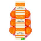 Waitrose large navel oranges - 10s