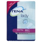 Tena lady mini plus towels