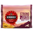 Seriously Strong Extra Mature Red Cheddar - 350g