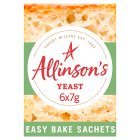 Allinson yeast easybake - 42g Brand Price Match - Checked Tesco.com 09/12/2013