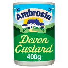 Ambrosia tinned Devon custard - 400g Brand Price Match - Checked Tesco.com 10/02/2016