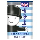 Homepride self raising flour - 1kg Brand Price Match - Checked Tesco.com 09/12/2013