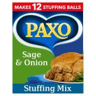 Paxo stuffing mix sage & onion - 170g Brand Price Match - Checked Tesco.com 16/04/2014