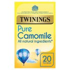 Twinings calming camomile 20 tea bags - 30g Brand Price Match - Checked Tesco.com 15/09/2014