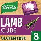 Knorr lamb 8 pack stock cubes - 80g