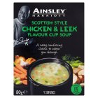 Ainsley Harriott chicken & leek cup soup - 80g Brand Price Match - Checked Tesco.com 04/12/2013