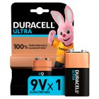 Duracell ultra M3 9V MN1604 - each Brand Price Match - Checked Tesco.com 16/07/2014