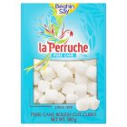 La Perruche pure cane rough cut cubes white