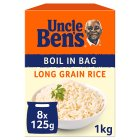 Uncle Ben's boil in bag long grain rice