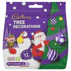 Cadbury chocolate tree decorations