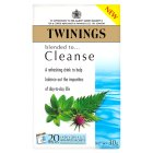 Twinings cleanse 20 tea bags