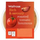 Waitrose roasted tomato houmous - 200g