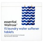 essential Waitrose 15 laundry water softener tablets - 15x15g