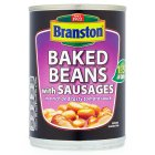 Branston baked beans with sausages - 405g