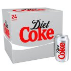 Coca-Cola diet coke - 24x330ml Brand Price Match - Checked Tesco.com 05/03/2014