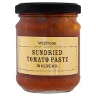 Waitrose sun-dried tomato paste in olive oil - 180g