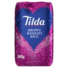 Tilda wholegrain basmati rice - 500g Brand Price Match - Checked Tesco.com 05/03/2014