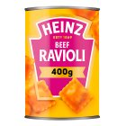 Heinz ravioli beef in tomato sauce - 400g Brand Price Match - Checked Tesco.com 07/10/2015