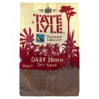 Tate & Lyle dark, soft brown cane sugar