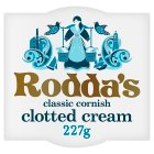 Rodda's Cornish clotted cream - 227g Brand Price Match - Checked Tesco.com 05/03/2014